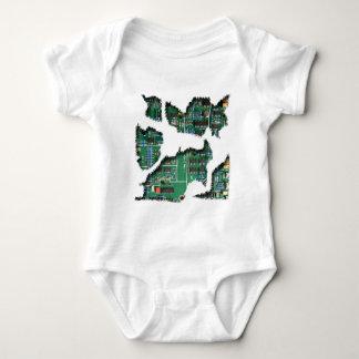 Secret Robot Baby Bodysuit