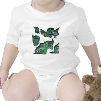 Secret Robot Baby Bodysuits