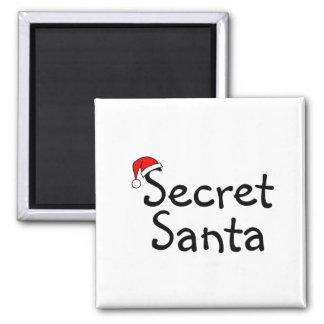 Secret Santa 2 2 Inch Square Magnet