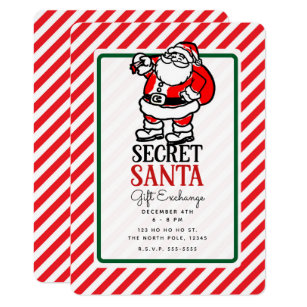50% Off Office Secret Santa Invitations – Limited Time ...