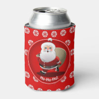 Secret Santa Christmas Party Can Cooler