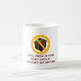 Secret Santa Coffee Mug