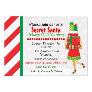 Secret Santa Invitations