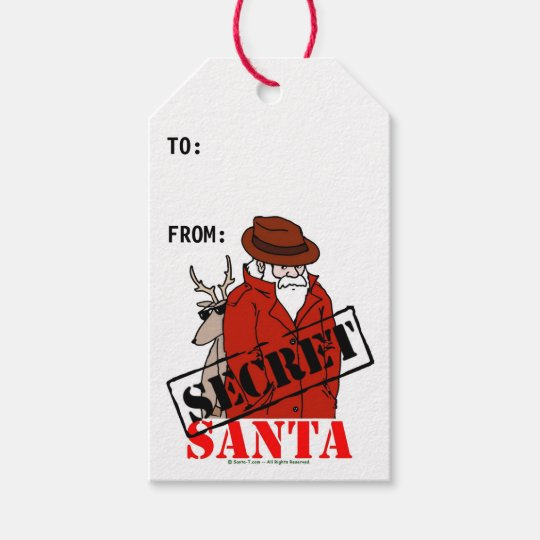 It's just a photo of Juicy Secret Santa Tags Printable