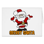 SECRET SANTA GREETING CARDS