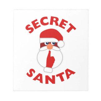 Secret Santa Notepad