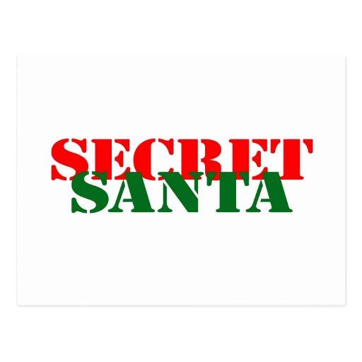 Secret Santa Cards & More
