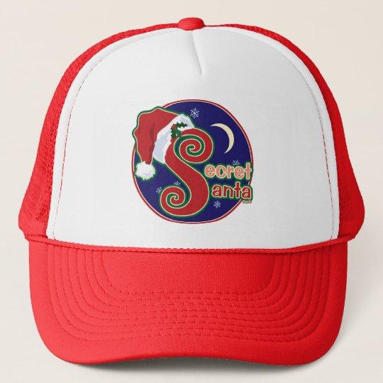 Secret Santa Trucker Hat