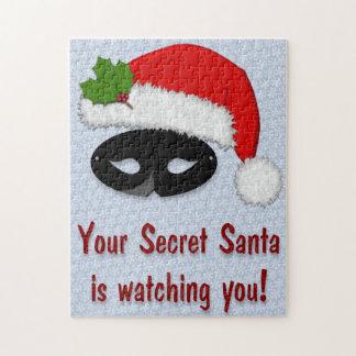 Secret Santa Watching - Snowflake Puzzle