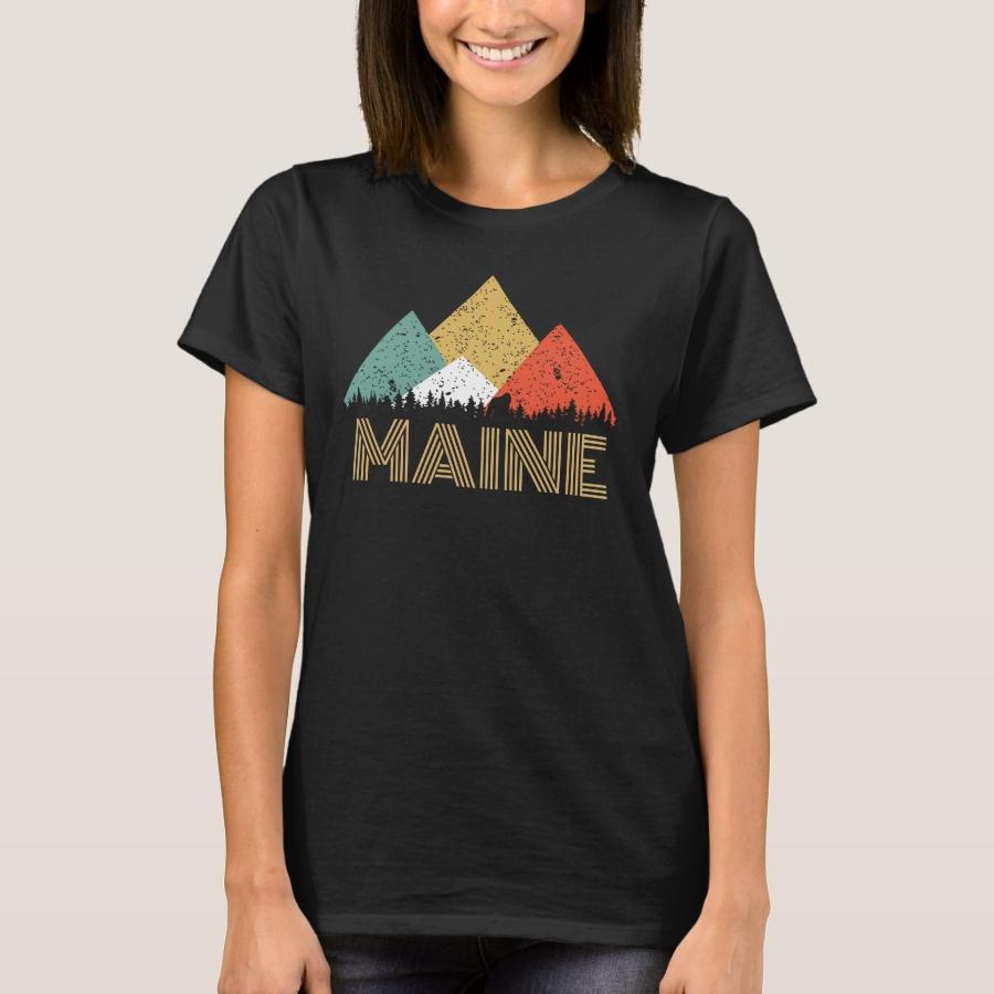 Secret Sasquatch Hidden Retro Maine Hiding Bigfoot T-Shirt - Best Selling Long-Sleeve Street Fashion Shirt Designs