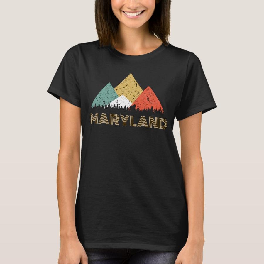 Secret Sasquatch Hidden Retro Maryland Hiding T-Shirt - Best Selling Long-Sleeve Street Fashion Shirt Designs