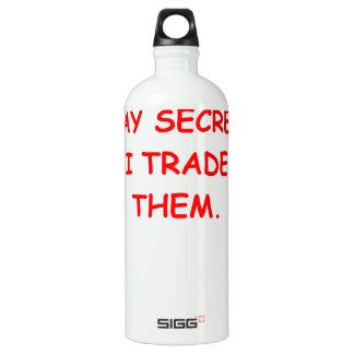 secret secrets water bottle