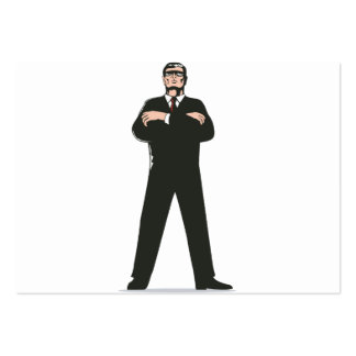 Secret Service Agent Body Guard Business Cards