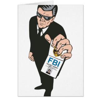 Secret Service Agent Body Guard Cards