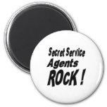 Secret Service Agents Rock! Magnet