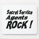 Secret Service Agents Rock! Mousepad