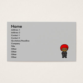 Secret Service Boy 1 Business Card