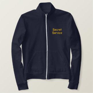 Secret Service Embroidered Jacket