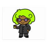 Secret Service Girl 1 Postcard