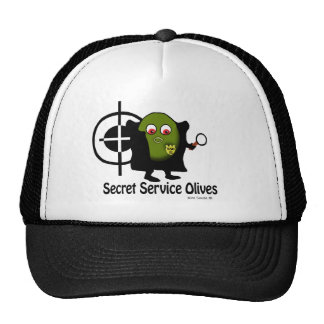 Secret Service Olives - Hat