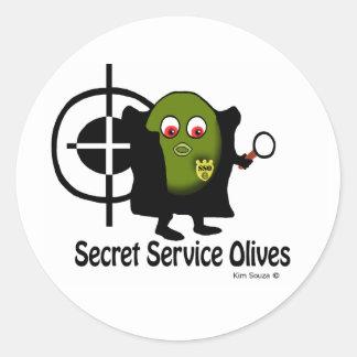 Secret Service Olives -  Sticker