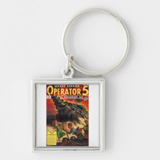 Secret Service Operator #5 Keychain