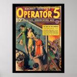 Secret Service Operator 5 - Sep-Oct 1938a_Pulp Art Poster