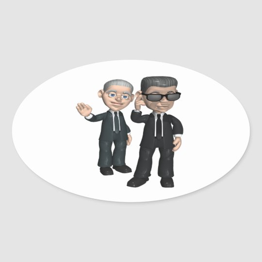 Secret Service Oval Sticker