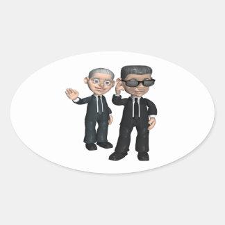 Secret Service Oval Sticker