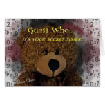 Secret Sister card- any occasion Card