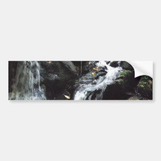 Secret Smoky Mountain Waterfall Car Bumper Sticker