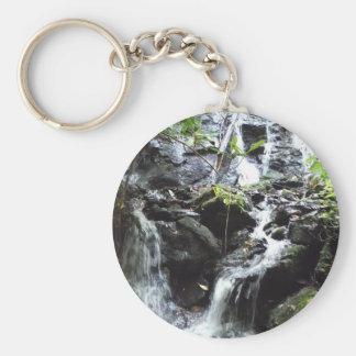 Secret Smoky Mountain Waterfall Key Chains
