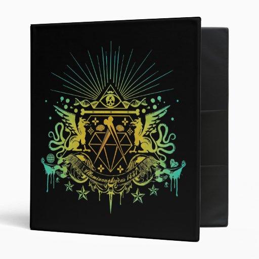Secret Society Vinyl Binder