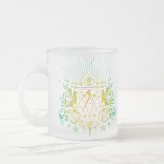 Secret Society Frosted Glass Coffee Mug