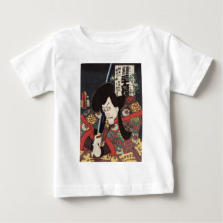 Secret song of the biwa (loquat) blossom, Kunisada Baby T-Shirt