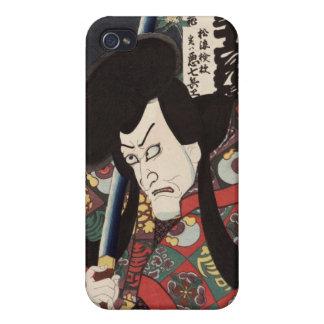 Secret song of the biwa (loquat) blossom, Kunisada iPhone 4/4S Case