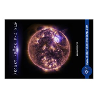 Secret Space Program Poster