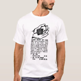 Secret Spy Camera Vintage Ad T-Shirt