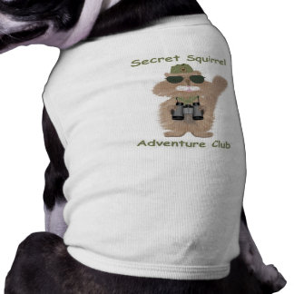 Secret Squirrel Dog Shirt