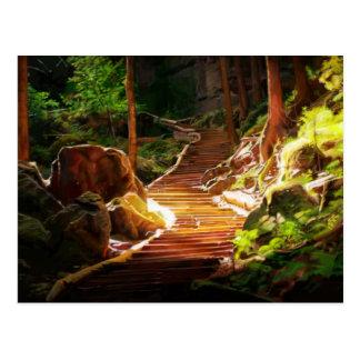 Secret Stairs to El Dorado Postcard