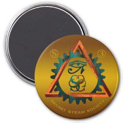 Secret Steam Society Magnet (large)
