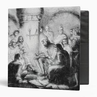 Secret Study of Wycliffe's Bible 3 Ring Binder