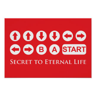Secret to Eternal Life Poster
