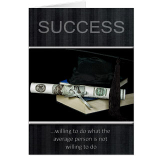 Secret To Success Greeting Card
