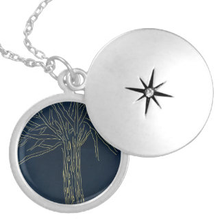 Secret Tree Silver Plated Necklace