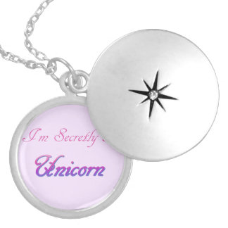 Secret Unicorn Locket Necklace