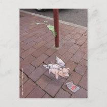 secret valentine postcard