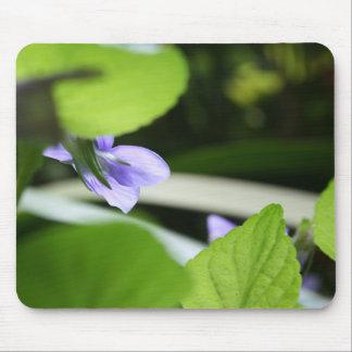 Secret Violet - Floral Photography Mouse Pad