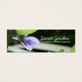 Secret Violets - Floral photography Mini Business Card
