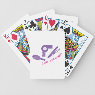 Secret Weapon Bicycle Playing Cards